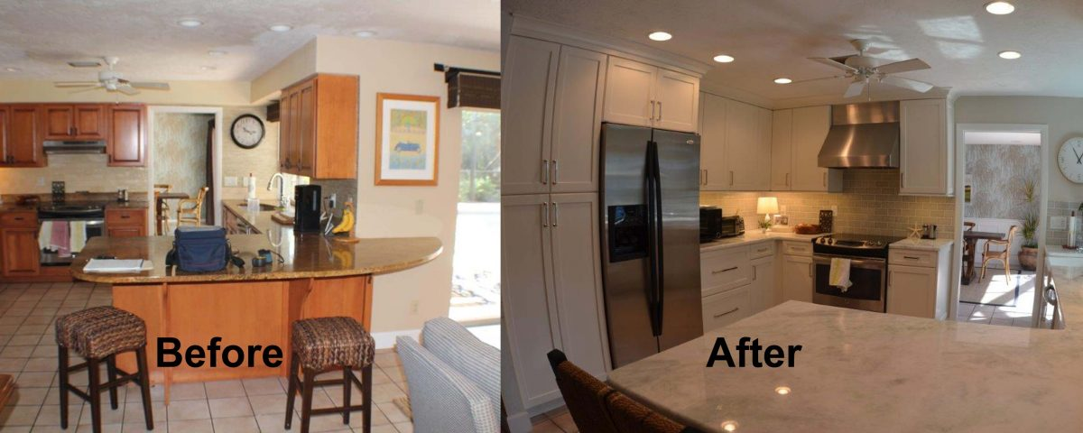 Bathroom Remodeling Venice Florida venice kitchen remodel project - kitchen and bath on the