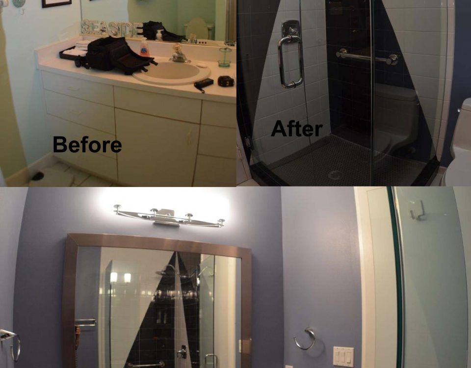 venice florida guest bathroom remodel before and after