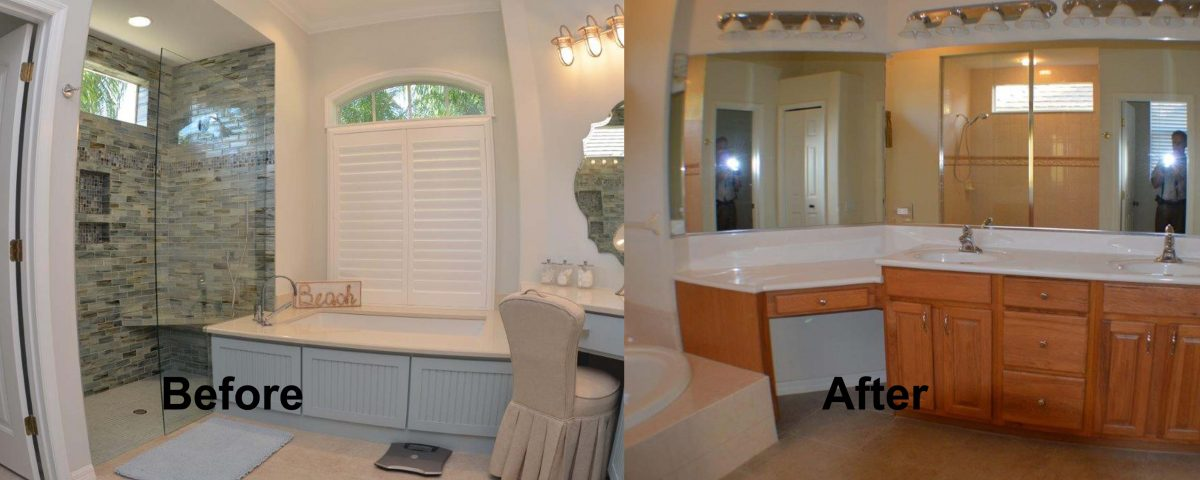 Genial Venice Florida Master Bath Before And After Remodel Project
