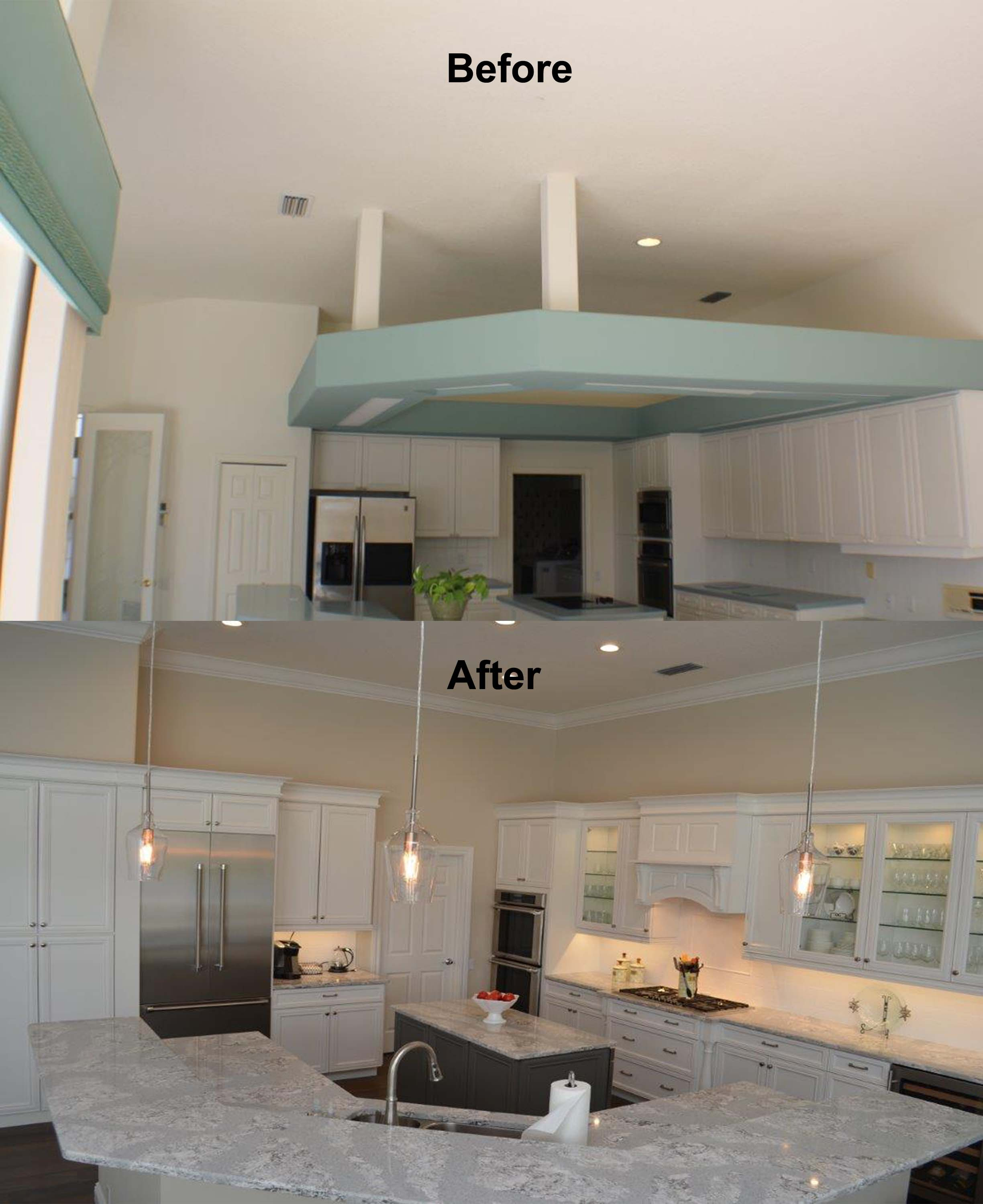 Venice kitchen before and after project remodeled for Bathroom remodeling venice fl