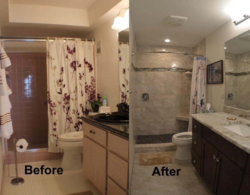 Beautiful Master Bathroom Remodeling Project in Venice Florida